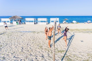 activities ammouda villas beach volley chalkidiki