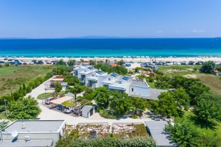 ammouda villas in chalkidiki with private beach