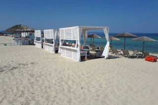 facilities ammouda villas with private beach