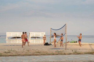 family ammouda villas beach volley