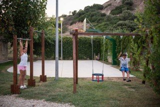 family ammouda villas playground area