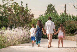 family ammouda villas walking