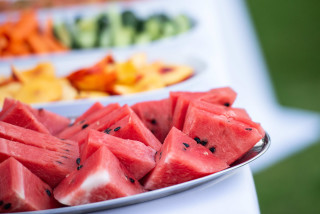 night event ammouda villas watermelon